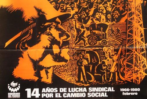 14 años de lucha sindical. ¡Por el cambio social! (Dos ejemplares)