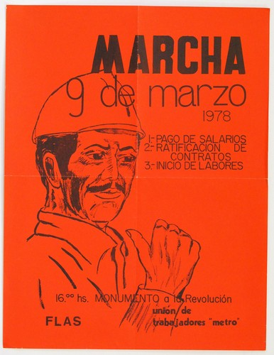 """Marcha de los trabajadores del """"Metro"""" (núm. 2)"""