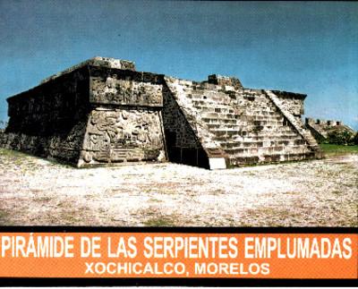 Pirámide de las Serpientes Emplumadas