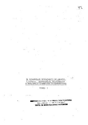 El desarrollo económico de México 1500-1976