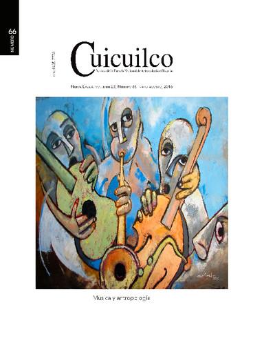 Cuicuilco Vol. 23 Num. 66 (2016) Música y antropología