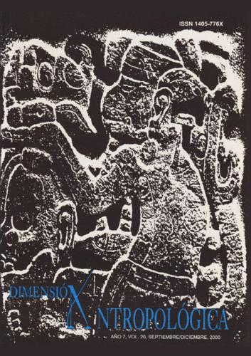 Dimensión Antropológica Vol. 20 (2000)