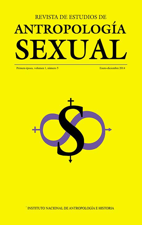Revista de Estudios de Antropología Sexual. Vol. 1 Num. 5 (2014)