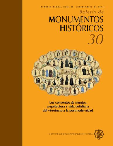 Boletín de Monumentos Históricos Núm. 30 (2014) (Tercera Época)
