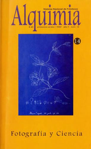 Alquimia Num. 14 (2002) Fotografía y Ciencia