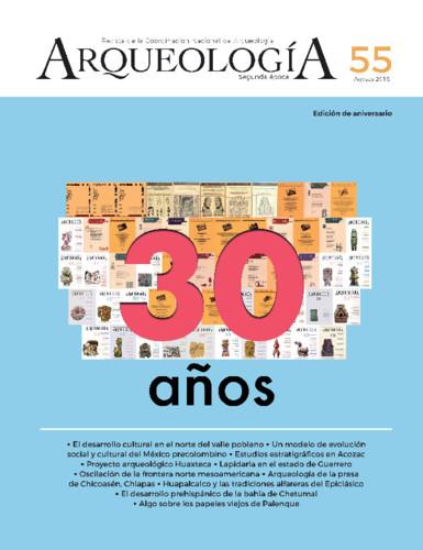 Arqueología Núm. 55 (2018) Segunda época