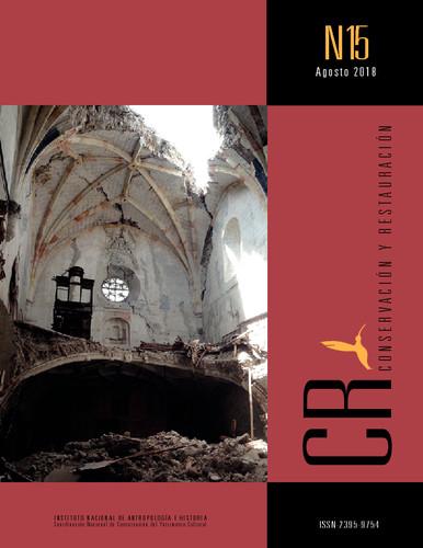 CR. Conservación y Restauración Num. 15 (2018)