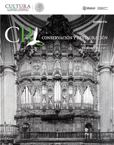 CR. Conservación y Restauración Num. 7 (2015)