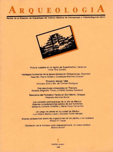 Arqueología Núm. 1 (1989) Segunda época