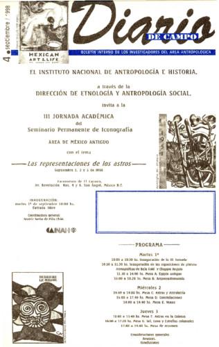 Diario de Campo Num. 4 (1998)