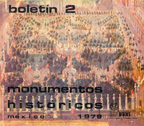 Boletín de Monumentos Históricos Núm. 2 (1979) (Primera Época)