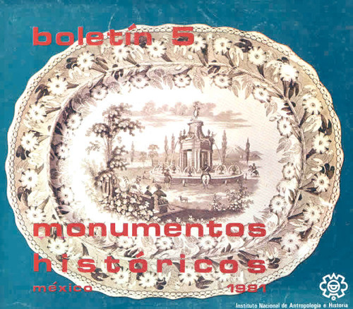 Boletín de Monumentos Históricos Núm. 5 (1981) (Primera Época)