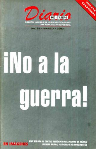 Diario de Campo Num. 52 (2003)