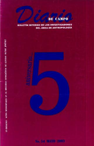 Diario de Campo Num. 54 (2003)