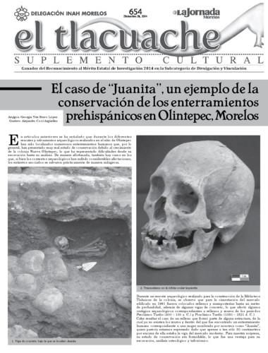 El Tlacuache Num. 654 (2014)