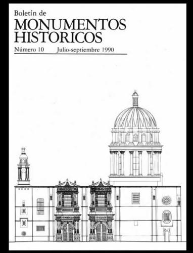 Boletín de Monumentos Históricos Núm. 10 (1990) (Segunda Época)
