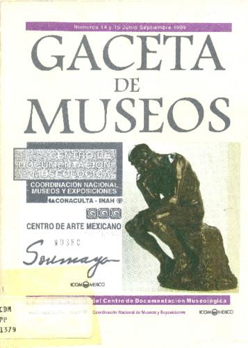 Gaceta de Museos Num. 14-15 (1999)