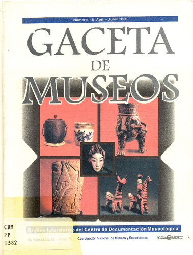 Gaceta de Museos 18 (2000)
