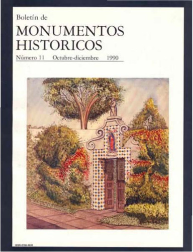 Boletín de Monumentos Históricos Núm. 11 (1990) (Segunda Época)