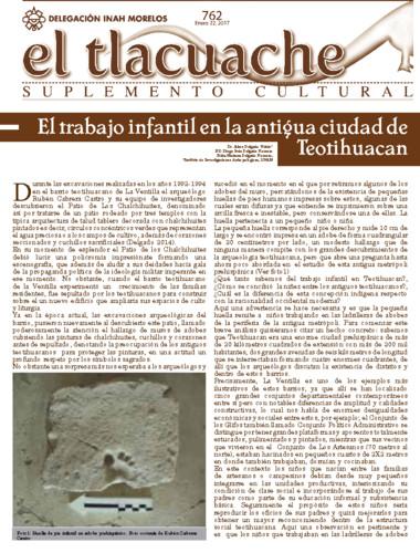 El Tlacuache Num. 762 (2017)
