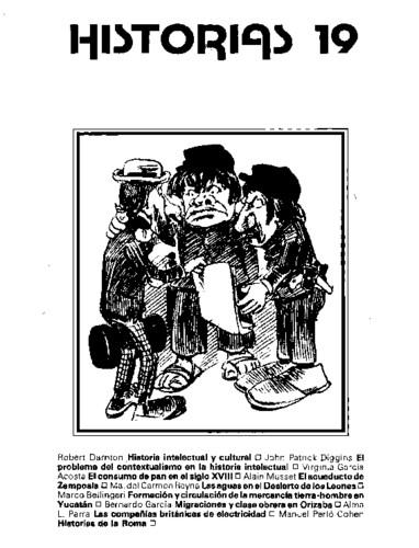 Historias Num. 19 (1988)