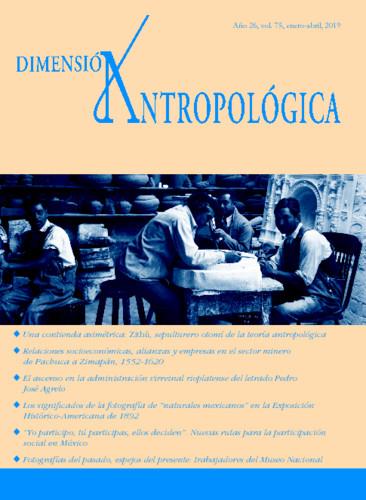 Dimensión Antropológica Vol. 75 (2019)