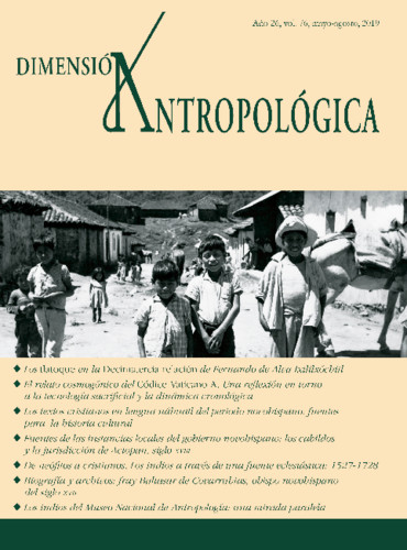 Dimensión Antropológica Vol. 76 (2019)