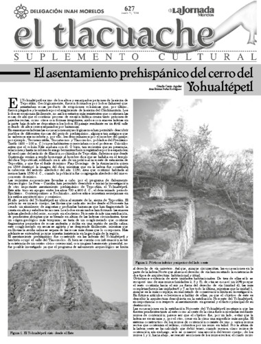 El Tlacuache Núm. 627 (2014)