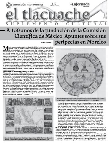 El Tlacuache Núm. 610 (2014)