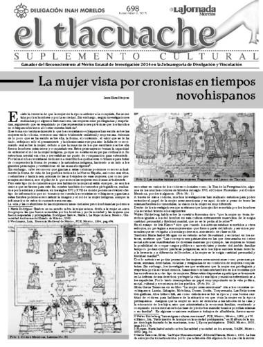 El Tlacuache Núm. 698 (2015)
