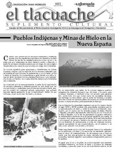 El Tlacuache Núm. 683 (2015)