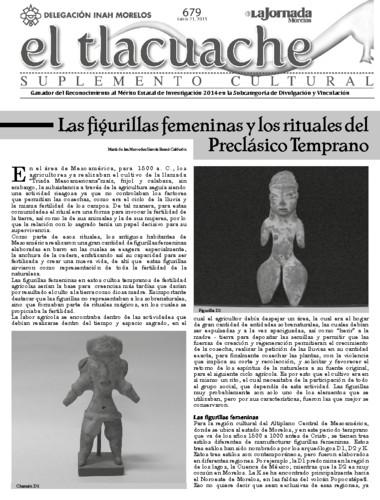 El Tlacuache Núm. 679 (2015)