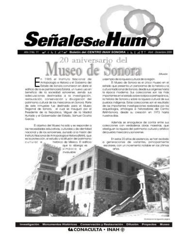 Señales de humo Num. 11 (2005)