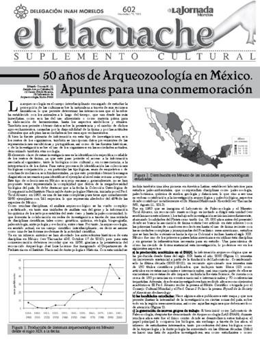 El Tlacuache Núm. 602 (2013)