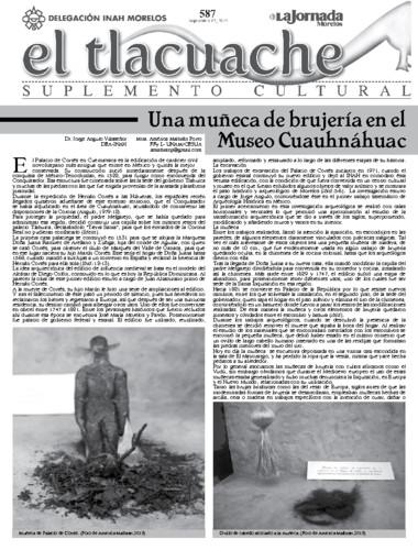 El Tlacuache Núm. 587 (2013)