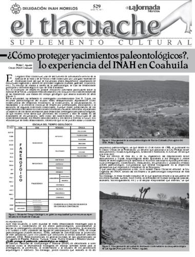 El Tlacuache Núm. 529 (2012)