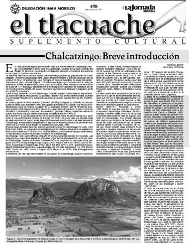 El Tlacuache Núm. 498 (2011)