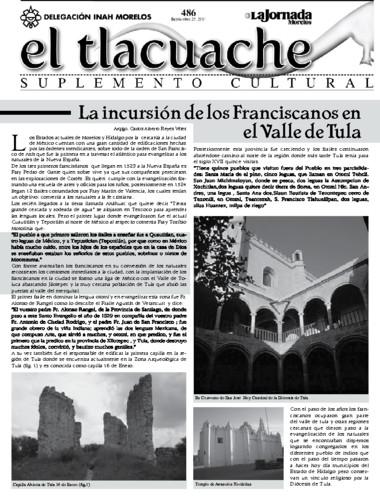 El Tlacuache Núm. 486 (2011)