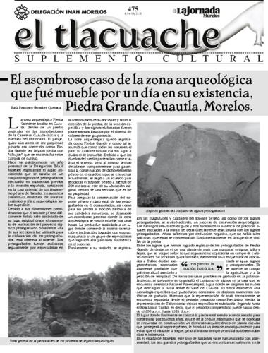 El Tlacuache Núm. 475 (2011)