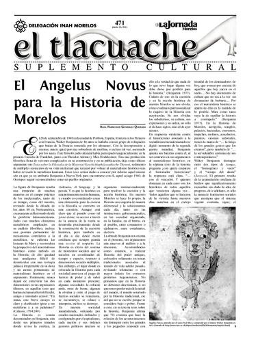 El Tlacuache Núm. 471 (2011)