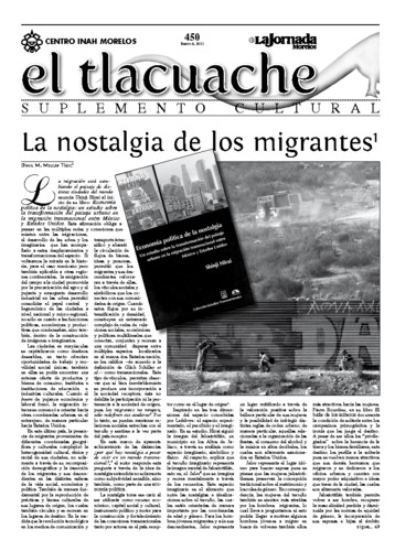 El Tlacuache Núm. 450 (2011)