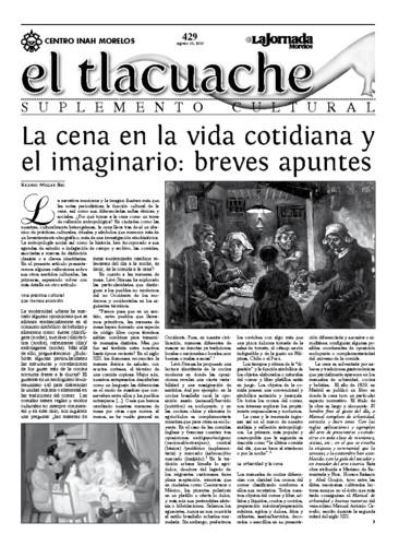 El Tlacuache Núm. 429 (2010)
