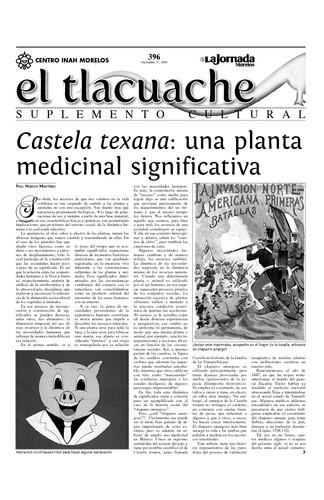 El Tlacuache Núm. 396 (2009)
