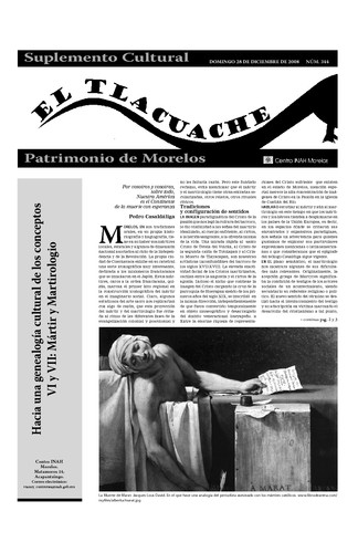 El Tlacuache Núm. 344 (2008)