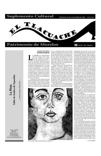 El Tlacuache Núm. 339 (2008)