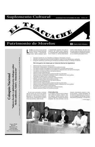 El Tlacuache Núm. 337 (2008)