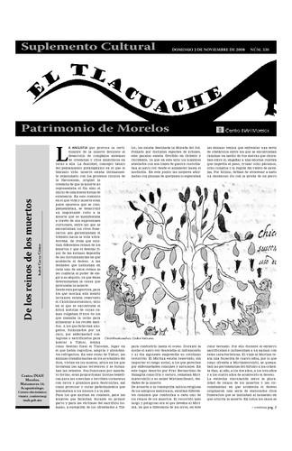 El Tlacuache Núm. 336 (2008)