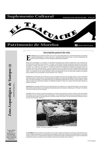 El Tlacuache Núm. 326 (2008)