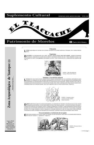 El Tlacuache Núm. 324 (2008)