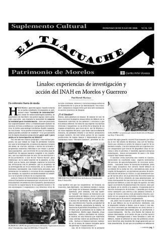 El Tlacuache Núm. 320 (2008)